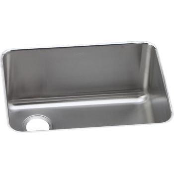 Elkay ELUH231710L Stainless Steel Left Drain Gourmet 18-3/4-Inch x 25-Inch Single Basin Undermount Stainless Steel Kitchen Sink by Elkay