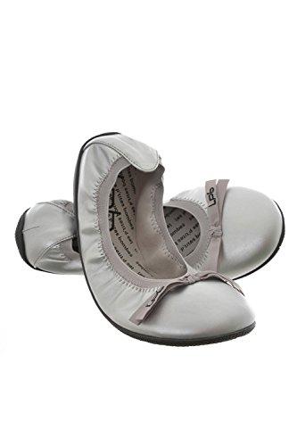 Les Ptites Bombes Ballerinas Ella, grau