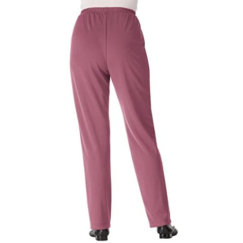 a11dff6c121 Only Necessities Women s Plus Size Pants In Wrinkle   Stain-Resistant Knit  outlet
