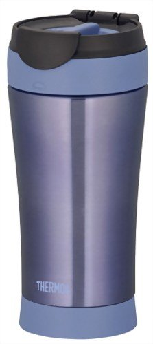 THERMOS MOTION JND-400-MSB Blue | Thermal Stainless Portable Tumbler 0.4 liter ( 13.5 oz.) (Japanese Import) by Thermos