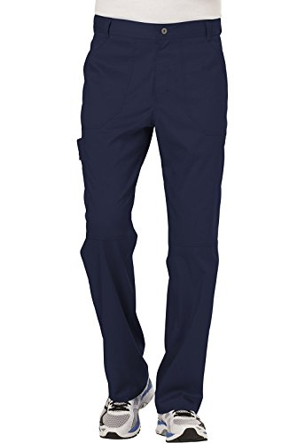 Ww Revolution By Cherokee Mens Fly Front Pant  Navy  Xl