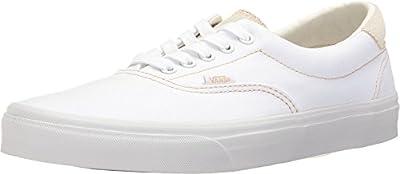 Vans Unisex Era 59 (C&S) True White/Sand Skate Shoe 5.5 Men US/7 Women US