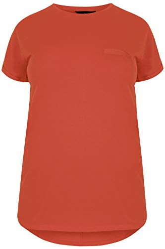 Yours Clothing Womens Plus Size Short Sleeve Tshirt