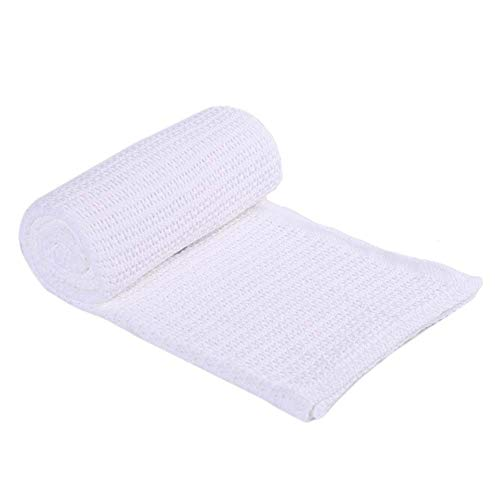 - Battilo 100% Soft Premium Cotton Thermal Waffle Blanket Couch Quilt, Perfect for Layering Any Bed, White