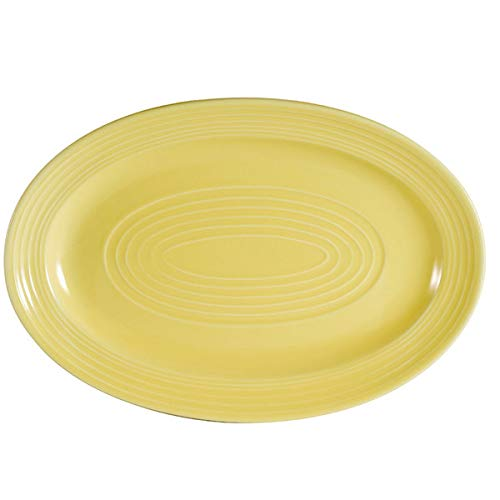 Oval Case Platter - CAC TG-14-SFL Tango 13 5/8