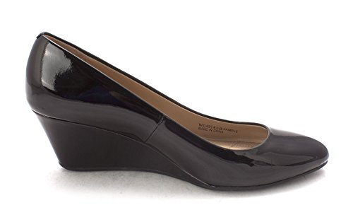 Cole Haan Womens 15A4108 Closed Toe Wedge Pumps Black Sl3mW