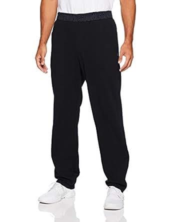 Bonds Men's Essentials Logo Straight Leg Trackie, Black, X-Small