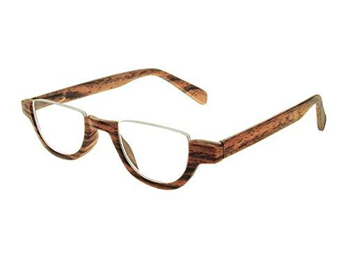 910724fde01 Goodlookers Reading Glasses  Fulham  Brown +1.50 - Buy Online in ...