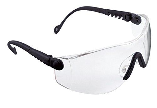 Tema Op Honeywell Safety Lens with Anti Scratch Eyewear Frame Clear Black 1000016 644Fnq1w