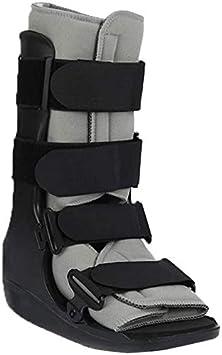 AY Botas de Asistencia de Fractura fijas - Soporte de guía de Anclaje de Tobillo para fracturas, esguinces de Tobillo y reparación de tendones de Aquiles (Size : Small)