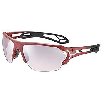 Cébé STrack L Gafas de Sol Adultos Unisex Matt Red Gradient ...