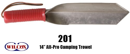 Wilcox All Pro 202S Garden Trowel, Indestructible, 14'', Stainless Steel by Wilcox All Pro