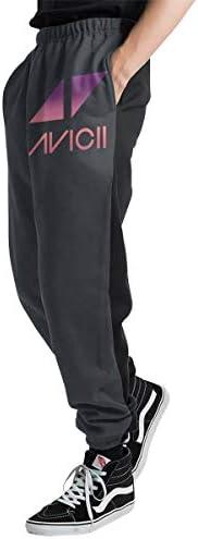 Avicii アヴィーチー メンズ スウェットパンツ トレーニングパンツ ロングパンツ ジョガーパンツ ゆるシルエットおしゃれ 秋 冬