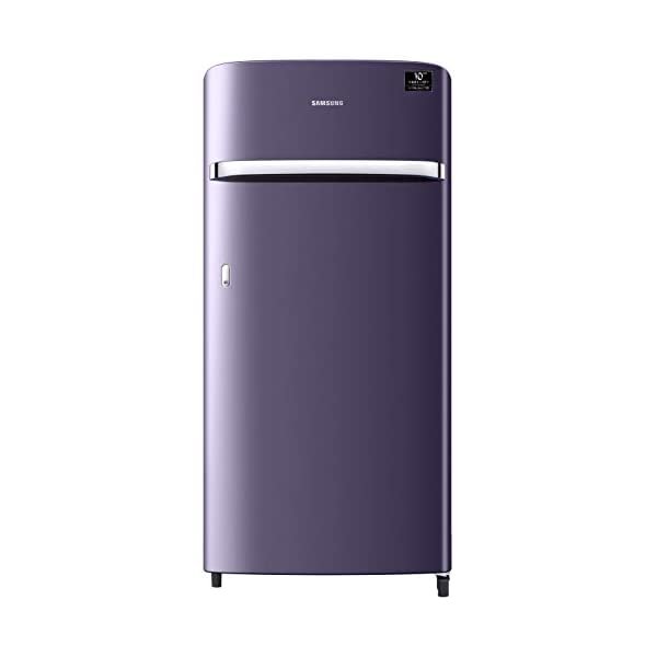 Samsung 198 L 4 Star Direct-Cool Single Door Refrigerator (RR21T2G2XUT/HL, Pebble Blue) 2021 August Direct-cool refrigerator : Economical and Cooling without fluctuation Capacity 198 liters: Suitable for families with 2 to 3 members and bachelors Energy rating 4 Star : high efficiency model