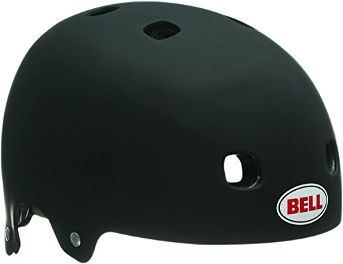 Bell Sports Black Multi Sport Helmet - Bell Segment Multi-Sport Helmet (Matte Black, Medium)