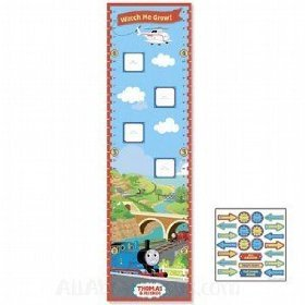 Thomas The Tank Photo by Peaceable Kingdom -Growth Chart