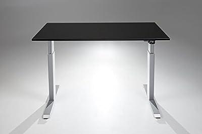 FlexTable Electric Standing Desk w/ Silver Frame