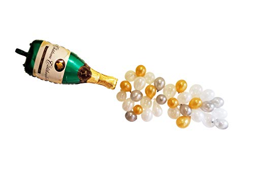 (Champagne and Bubbles Balloon Set - DIY, Sip Sip Horray Pop the Bubbly 40