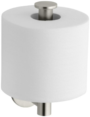 KOHLER K-14459-BN Stillness Toilet Tissue Holder, Vibrant Brushed Nickel by Kohler