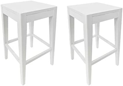 """Christopher Knight Home Elaina 26"""" Wooden Counter Stool Set of 2"""