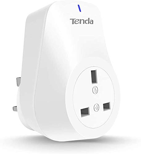 Smart Plug,Works with Amazon Alexa(Echo and Echo Dot) & Google Home - Tenda SP3 WiFi Plugs Remote Control Timer Plug No Hub Required,Wireless Smart Outlet Socket(1 Pack)