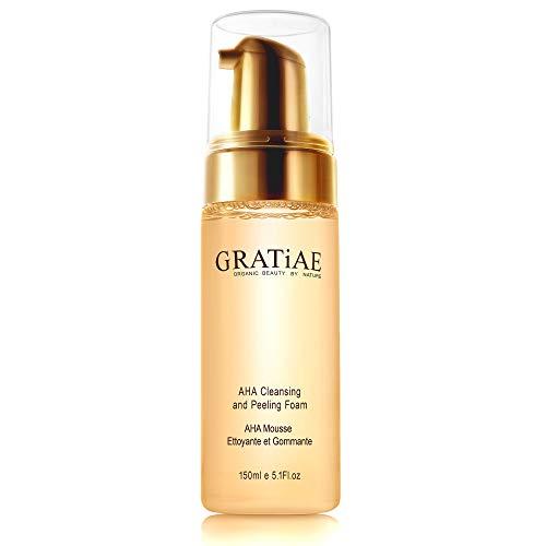 Gratiae Organics Aha Cleansing and Peeling Foam, 5.1 Ounce