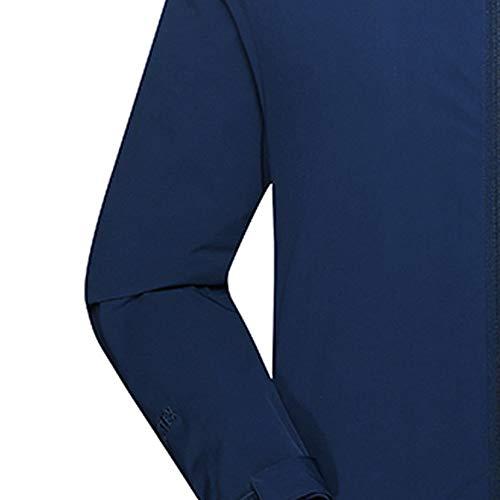 Soft Conqueror De Manteau Automne Bleu En Manteaux Air Shell Hommes Plein Cachemire Hiver D'assaut Imperméable Homme Jacket Sport qtFStr