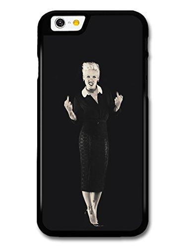 P!nk Fingers Black & White Popstar Singer Pink hülle für iPhone 6 6S