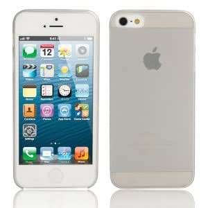 Ultra-thin ( 0.3mm ) Dull Polish Protective Case for iPhone 5/5S Gray