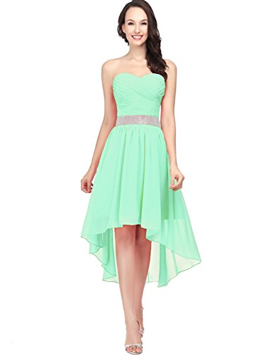 Belle House 2016 Long Prom Gown Fitted For Womens Wedding Party Dresses Mint