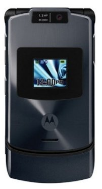 Motorola RAZR V3xx Unlocked Phone Tri-Band GSM, 3G, with Camera, and Video Player (Gray)