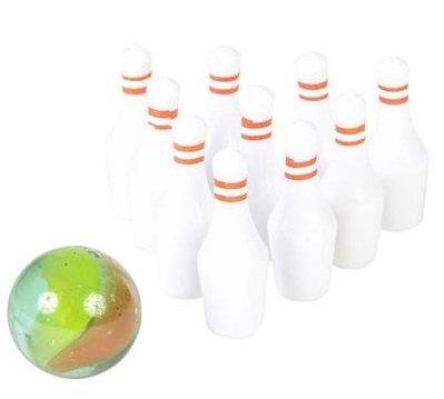 Rhode Island Novelty Mini Bowling Game (Pack of