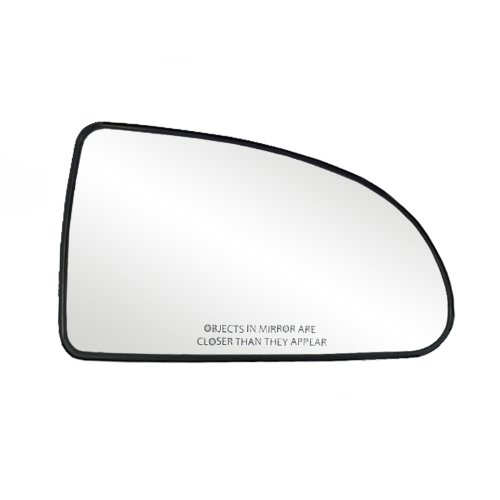 Fit System 80148 Chevrolet/Pontiac Right Side Manual Remote/Power Replacement Mirror Glass with Backing Plate