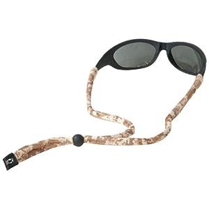 Chums Original Cotton Standard End Eyewear Retainer, Digital Camo Marine Tan