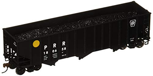 Bachmann Trains Pennsylvania Yellow Ball #180658 Bethlehem Steel 100 Ton Three-Bay Hopper-Ho Scale
