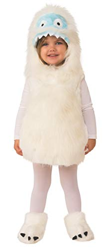 Rubie's Costume Co. Kids Cute Yeti Toddler Costume, Multicolor -