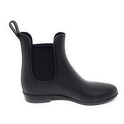 Michael Kors Women's Charm Gore Rainbootie,Black, PVC,Size 8 3