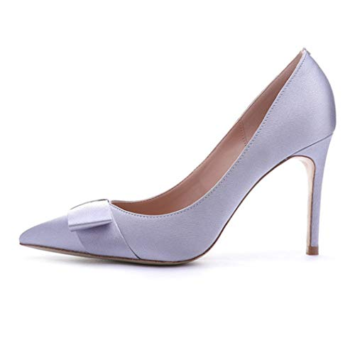 Pumps Sexy Stiletto Pointed Toe Ladies Elegant Office Banquet Shoes ()