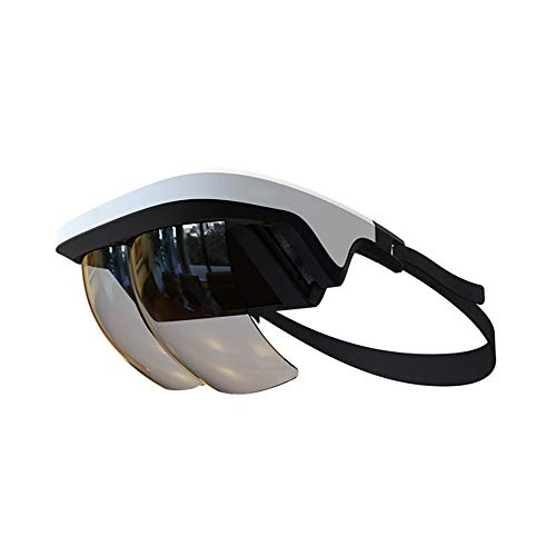 90°FOV AR Headset, Smart AR Glasses 3D Video Augmented Reality VR Headset Glasses for iPhone & Android (4.5-5.5