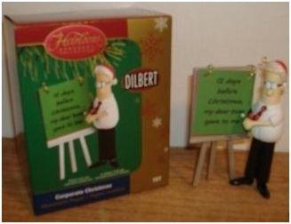 CARLTON CARDS HEIRLOOM DILBERT CORPORATE CHRISTMAS 2005 (Card Christmas Dilbert)