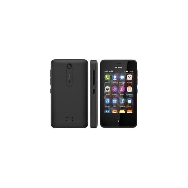Nokia Asha 501 Unlocked GSM Cell Phone   Black