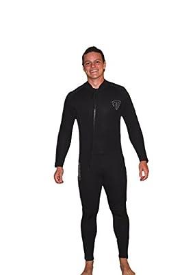 5mm Men's Front Cross Zip Wetsuit - TommyDSports Comfort Stretch 5110