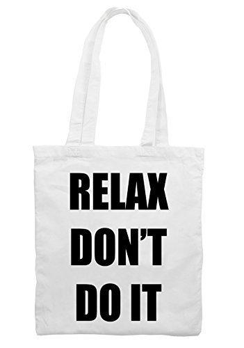 Relax Don't Do It 1980s Party Shoulder Bag (Hot Pink or White)