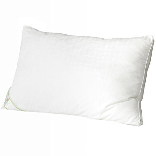 "Pillows for Sleeping King 1 pack - DUO-V HOME Luxury Hypoallergenic Alternative Down King Size Pillows with 300T Cotton Shell, 2"" Gusset Firm and Soft for Side and Back Sleepers"