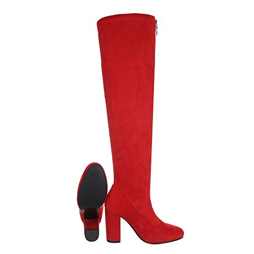 design Ital Th6010 Femme Classiques Rot Bottes 07 dUfSUqZAgW