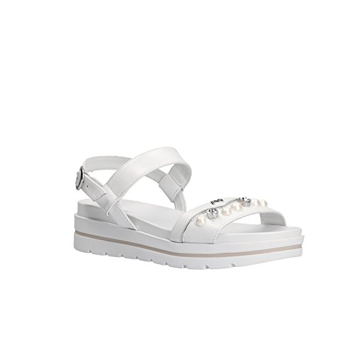 Women's Nero Bianco White P805854D Giardini Fashion Sandals 4WpBq71w