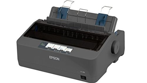Epson C11CC24001 LX-350 Dot Matrix Printer - 9 pin - Up to 347 Char sec - Parallel Serial USB
