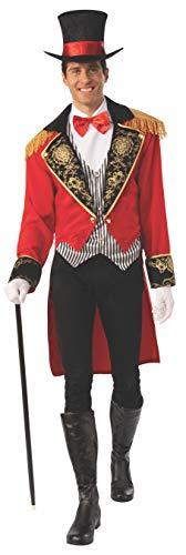 Greatest 2019 Halloween Costumes (Rubie's Men's Opus Collection Life Adult Circus Man Costume, As Shown,)