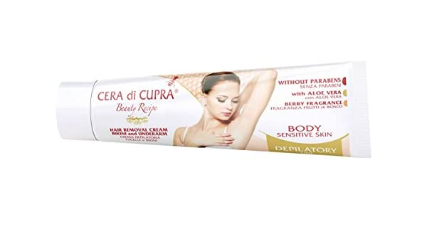 Amazon.com: Cera Di Cupra Hair Removal Cream Bikini and Underarm: Health & Personal Care