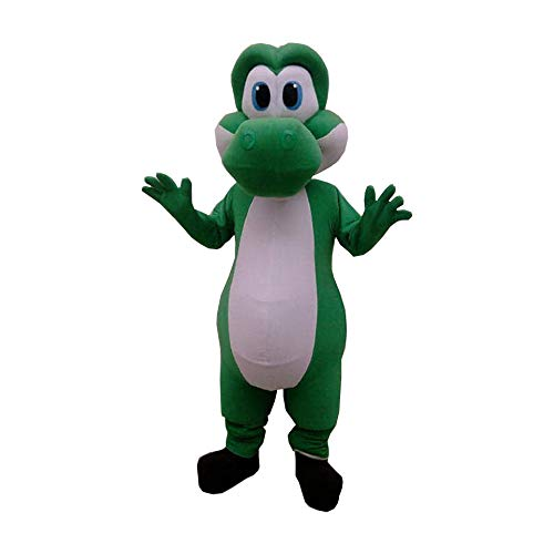 Yoshi Mario Bros Mascot Costume Character Cosplay Party Birthday Halloween